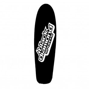 Black Diamond Sports Longboard Deck Only - Black Cruiser