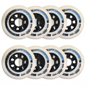 BDS X Rollerblade Hydrogen 90mm 85A Wheels 8 Pack