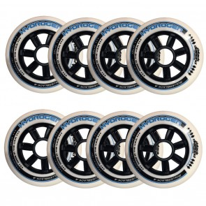 BDS X Rollerblade Hydrogen 100mm 85A Wheels 8 Pack