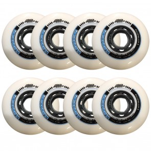BDS X Rollerblade Hydrogen 80mm 85A Wheels 8 Pack