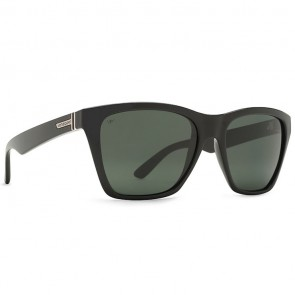 VonZipper BOOKER Black Gloss with Grey Poly Polarized