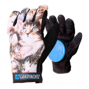 Landyachtz Cat Pattern Slide Gloves