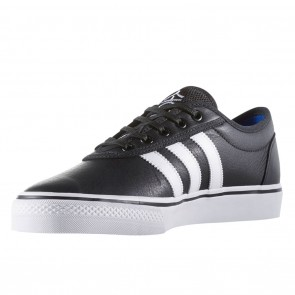 Adidas Adi-Ease Black / White / Gold Skate Shoes