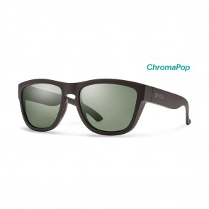 Smith CLARK Matte Black ChromaPop Polarized Grey Green Sunglasses