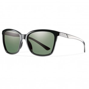 Smith Colette Black / Polarized Grey Green Sunglasses