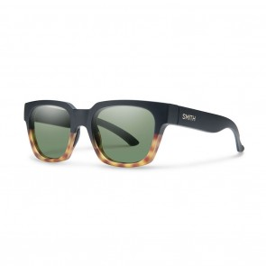Smith COMSTOCK Matte Black Fade Tortoise Grey Green Sunglasses