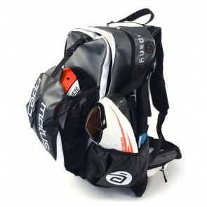 Cádomotus Waterflow Cycling Gear Bag Backpack Black / Grey / White