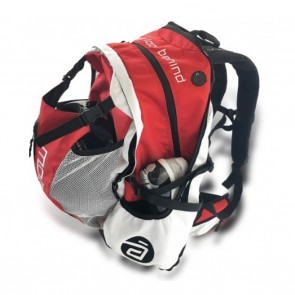 Cádomotus Airflow Cycling Gear Bag Backpack Red / White