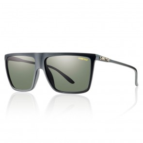 Smith CORNICE Matte Black / Polarized Gray Green Sunglasses