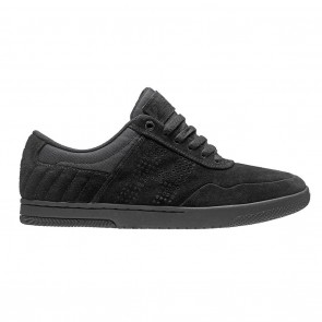 HUF Hufnagel II Black / Black Skateboard Shoes