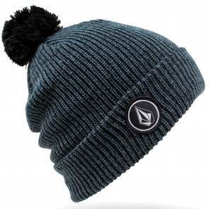 Volcom Quarter Pom  Beanie - Airforce Blue
