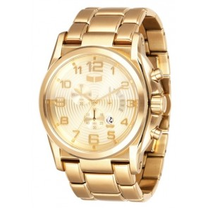 Vestal DE NOVO Brushed Gold Watch
