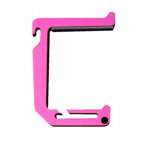 Dango Loop Hook - Anodized Passion Pink
