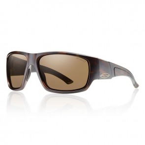 Smith DRAGSTRIP Matte Tortoise Frame Polarized Brown Lens Sunglasses