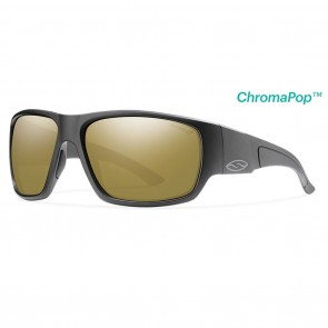 Smith Dragstrip Matte Black / ChromaPop Polarized Bronze Mirror Sunglasses