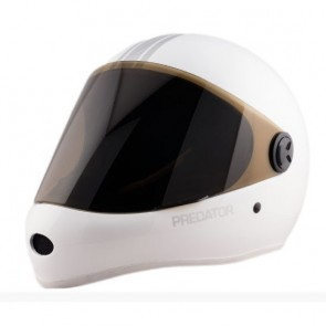 Predator DH6 Full Face Race Skate Helmet - White