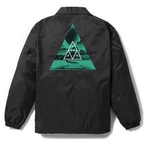 HUF Dimensions Coaches Jacket - Black