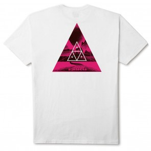 HUF Dimensions Triangle Tee - White