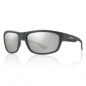 Smith DOVER Matte Black / ChromaPop Polarized Platinum Sunglasses