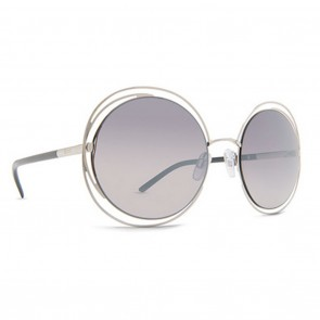 Dot Dash SPARKLEPOWER Sunglasses - Silver and Grey Chrome