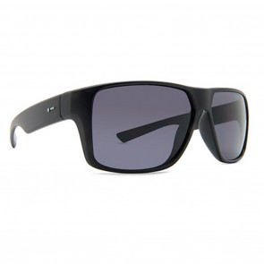 Dot Dash TURBO Sunglasses - Black and Grey Poly Polarized