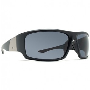 Dot Dash Destro Black Satin / Grey Sunglasses