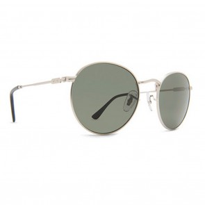 Dot Dash VELVATINA Silver Gloss and Vintage Grey Sunglasses