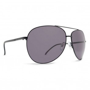Dot Dash NOOKIE Sunglasses - Black Satin and Grey