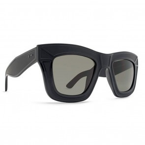 Dot Dash Poseur Black Satin / Retro Grey Sunglasses