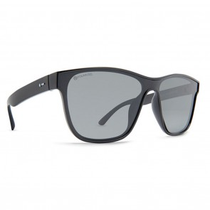 Dot Dash AUTOMATOR Black Gloss Grey Polarized Sunglasses