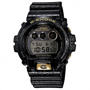 DW-6900CR-1CR | Casio G-Shock 6900 Crocodile Pattern Watch - BLK