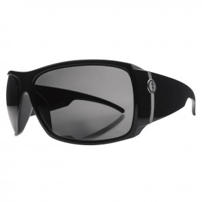 Electric BIG BEAT Gloss Black Melanin Grey Sunglasses