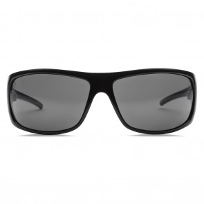 Electric CHARGE XL Gloss Black OHM+ Grey Polarized Sunglasses