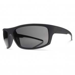 Electric TECH ONE Matte Black Melanin Grey Polarized Level 1 Sunglasses