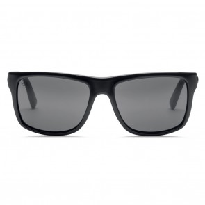 Electric SWINGARM Gloss Black Melanin Grey Sunglasses