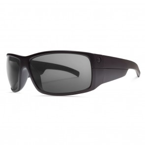 Electric Mudslinger Matte Black / Melanin Grey Polarized Level 1 Sunglasses