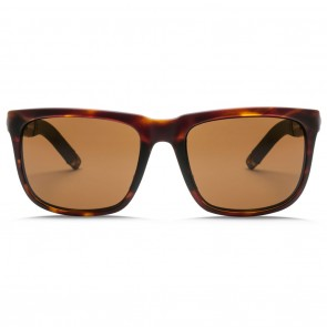 Electric KNOXVILLE S Matte Tortoise OHM Bronze Polarized Sunglasses