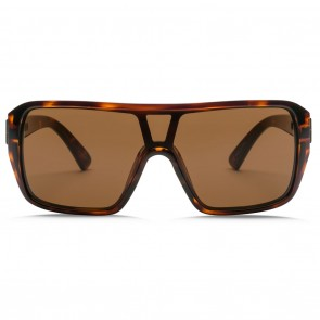 Electric BLAST SHIELD Gloss Tortoise OHM Bronze Sunglasses
