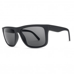 Electric SWINGARM XL Matte Black Ohm Polarized Grey Sunglasses