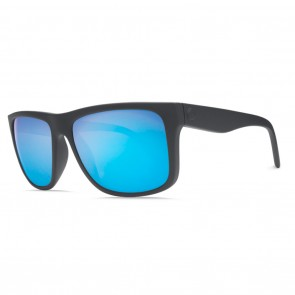 Electric SWINGARM XL Matte Black Ohm Grey Blue Chrome Sunglasses