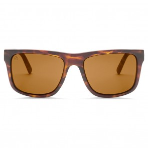 Electric SWINGARM XL Matte Tortoise Ohm Polarized Bronze Sunglasses