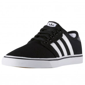 Adidas Seeley Black / White / Gum Skate Shoes