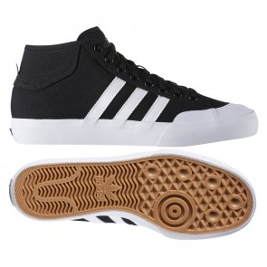 Adidas Matchcourt MID Skate Shoes - Core Black / Footwear White