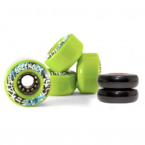Freebord Greengo Edge Set of 4 Green Wheels Kit 78mm 80a