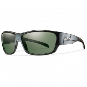 Smith FRONTMAN Black / Polarized Grey Green Sunglasses