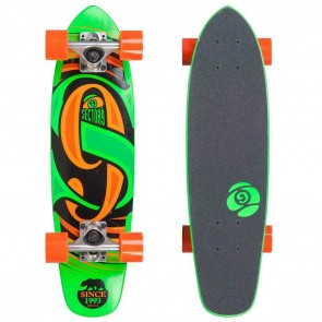 "Sector 9 The Steady (25""x 6.75"") Green Longboard Complete"