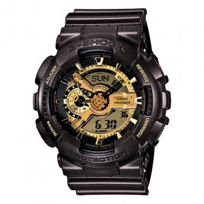 GA-110BR-5ACR | Casio G-Shock GA-110GW Watch - BLACK