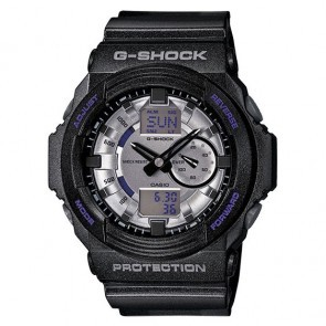 GA-150MF-8ACR | Casio G-Shock GA150A Watch - BLK SILVR