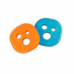 Holesom Scented Slide Pucks - PSwiss Orange and Blue