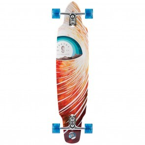 Sector 9 Horizon Red Longboard Complete